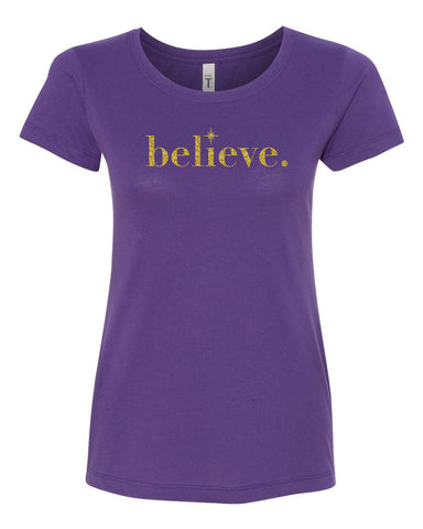 Believe Crew Neck Tee