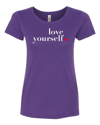 Love Yourself Crew Neck Tee
