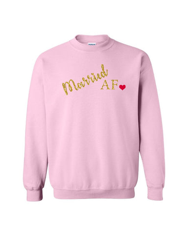 Married AF Ladies Sweater