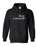 Love Yourself Men's Hoodies