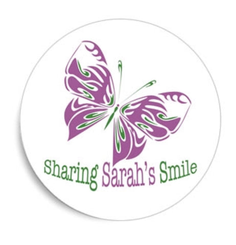 "Sharing Sarah's Smile Decal (5"" x 5"")"