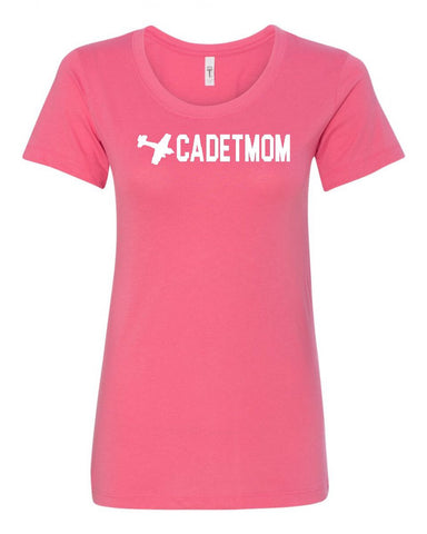 Air Cadet Mom Crew Neck Tee