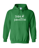 Think Pawsitive Hoodies