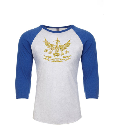 Unleash Your Warrior (Tanya Rose) Unisex Baseball Raglan Tee