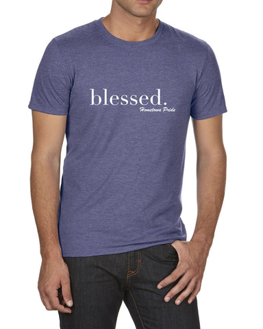 Blessed - Men's Crew Neck T-Shirt
