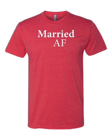 Married AF Men's Crew Neck Tee