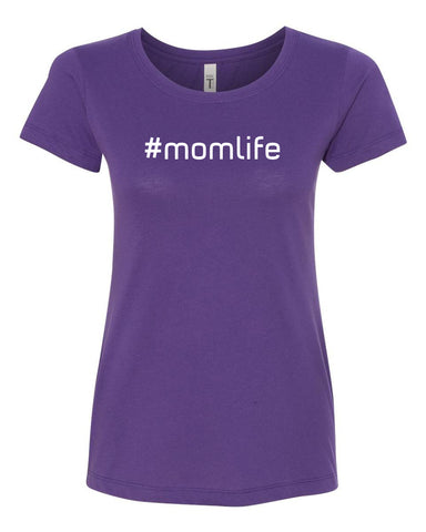 #momlife Crew Neck Tee