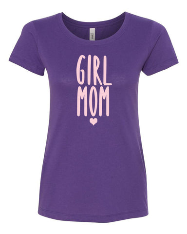 Girl Mom Crew Neck Tee