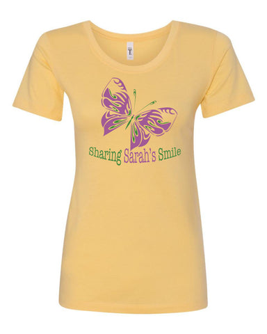 Sharing Sarah's Smile Crew Neck Tee