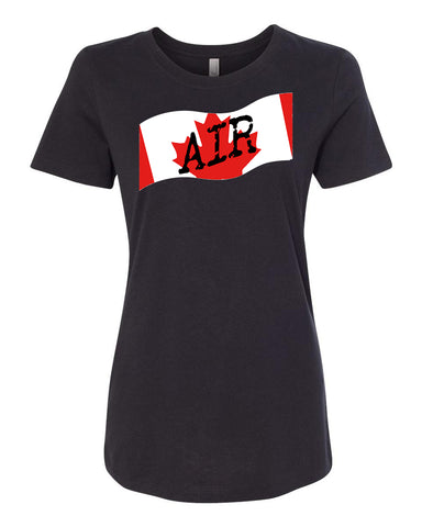 Canadian Air Force Ladies Crew Neck Tee