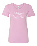 Proud Dance Mom Crew Neck Tee