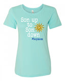 Son up to Son down Crew Neck Tee