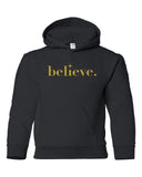 Believe Youth Hoodies