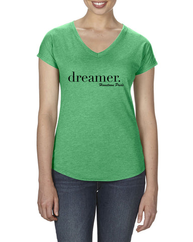 Dreamer - Ladies V-Neck T-Shirt
