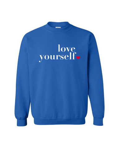 Love Yourself Men's Sweater