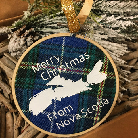 Nova Scotia Christmas Ornament