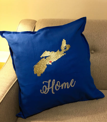 Nova Scotia Hometown Pride Pillow Cover