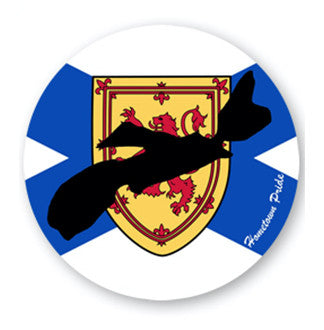 "Nova Scotia Hometown Pride Decal (5"" x 5"")"