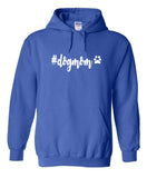 #dogmom Hoodies