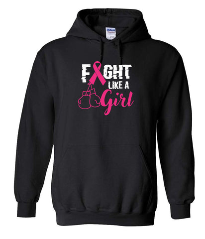 Fight Like A Girl Hoodies
