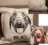 Pet Pillow Cover