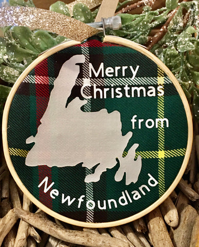 Newfoundland Christmas Ornament