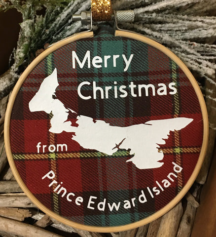 Prince Edward Island Christmas Ornament