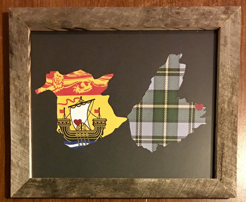 11 x 14 New Brunswick & Cape Breton Hometown Pride