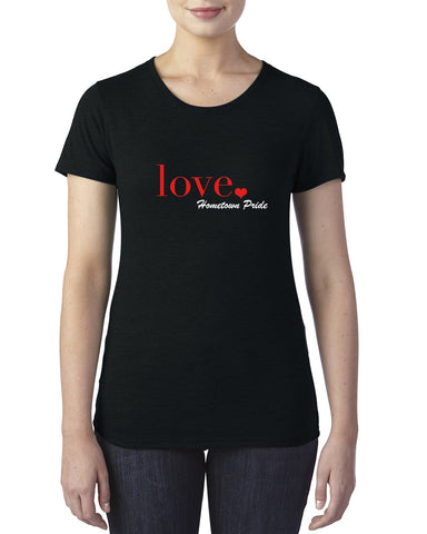 Love - Ladies Crew T-Shirt