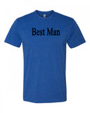 Best Man Men's Crew Neck Tee