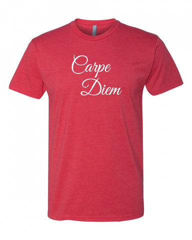 Carpe Diem Men's Crew Neck Tee