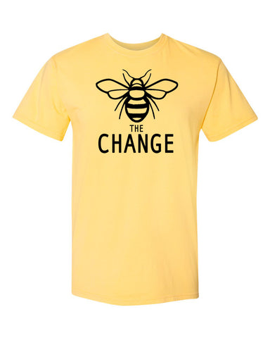 Bee The Change Men's Crew Neck Tee