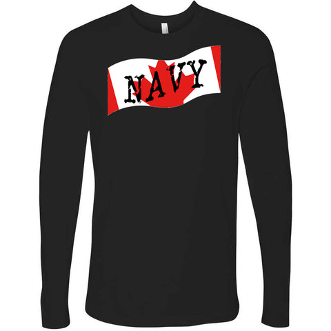 Canadian Navy Men's Long Sleeve