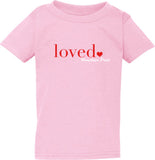 Loved - Toddler T-Shirts