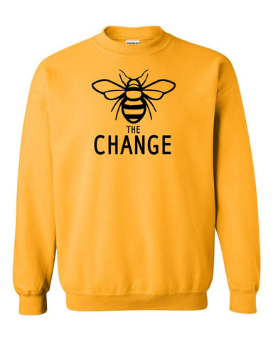 Bee The Change Unisex Sweater