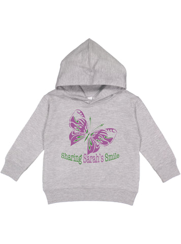 Sharing Sarah's Smile Toddler Hoodie