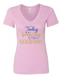 Good Day V-Neck Tee