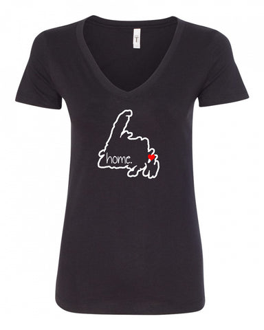 Customizable Home V-Neck Tee