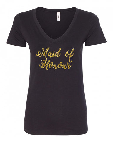 Maid of Honour V-Neck Tee
