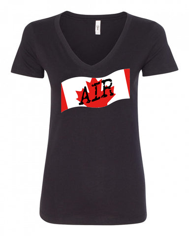 Canadian Air Force Ladies V-Neck Tee