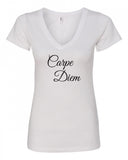 Carpe Diem V-Neck Tee