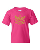 Unleash Your Warrior (Tanya Rose) Youth Crew Neck Tee