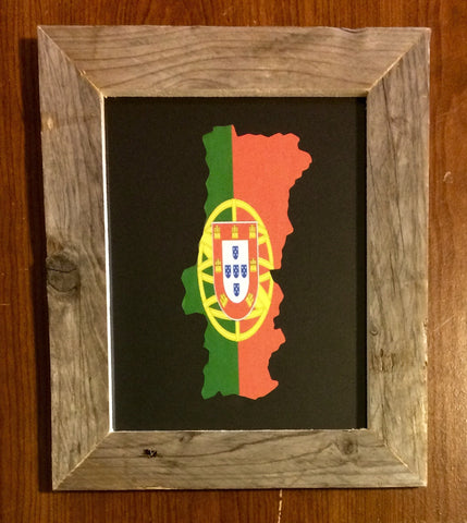 Portugal Hometown Pride - Driftwood Memories