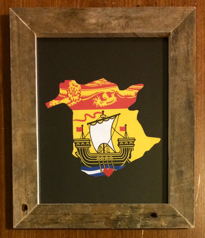 New Brunswick Hometown Pride - Driftwood Memories