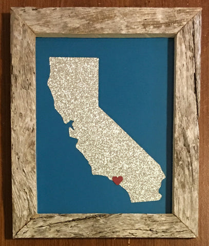California Hometown Pride - Driftwood Memories