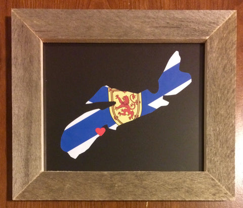 Nova Scotia Hometown Pride - Driftwood Memories