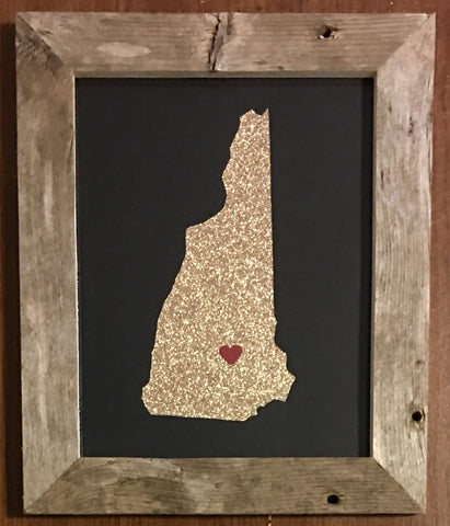New Hampshire Hometown Pride - Driftwood Memories