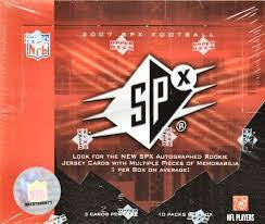 Pick a Pack 2007 SPx FB 7