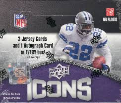 Pick a Pack 2008 UD Icons FB 6