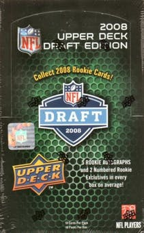 Pick a Pack 2008 Upper Deck Draft FB 4
